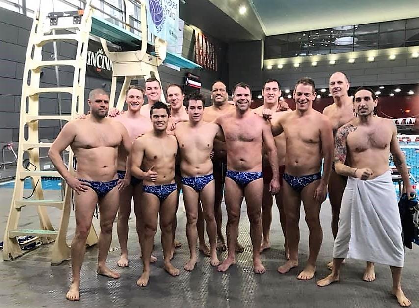 Cinci Squad, Bearcat pool by 3-meter board