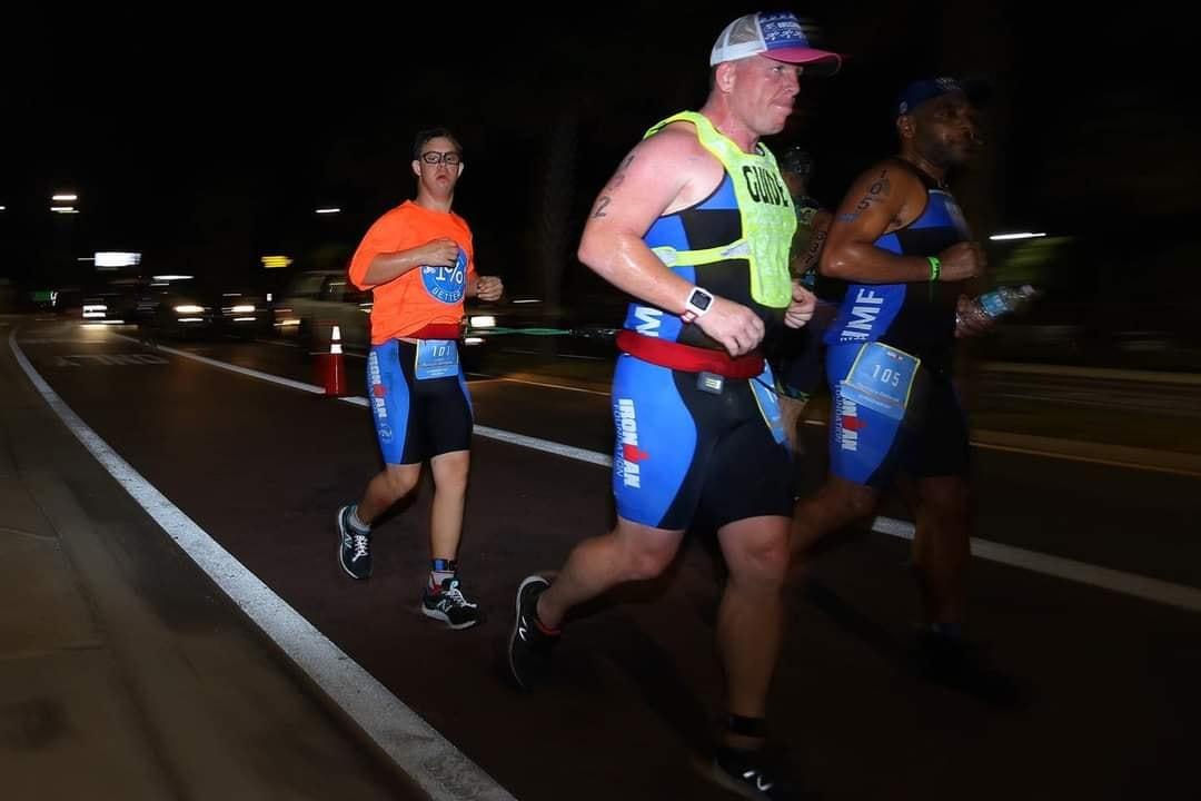 running in dark