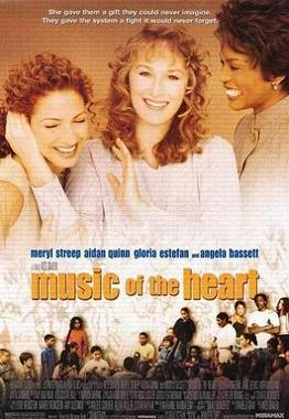 Music of the Heart, movie poster