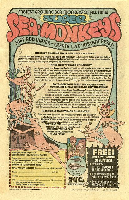Super Sea Monkey, from 1978