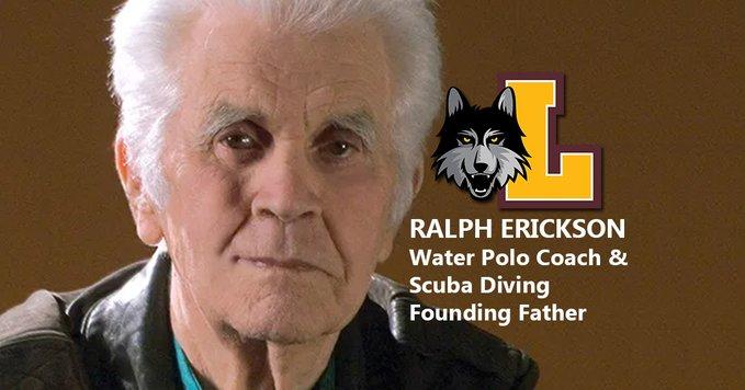 Coach Ralph Erickson and PADI founder